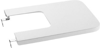Крышка для биде, микролифт, белая Roca INSPIRA SQUARE 80653200B