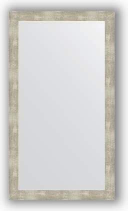 Зеркало в багетной раме 64x114см алюминий 61мм Evoform BY 3204
