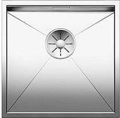 Кухонная мойка Blanco Zerox 400-IF, отводная арматура, полированная сталь 521584