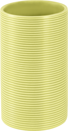 Стакан для зубных щёток Spirella Tube Ribbed, фисташковый 1018517