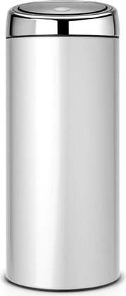 Ведро для мусора 30л серый металлик Brabantia Touch Bin 287404
