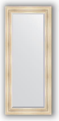 Зеркало с фацетом в багетной раме 69x159см травленое серебро 99мм Evoform BY 3575