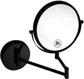 Зеркало косметическое Bemeta Dark, настенное, чёрный 112201510