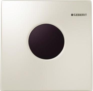 ИК привод смыва для писсуара, пластиковая кнопка белая глянцевая Geberit Sigma01 116.021.11.5