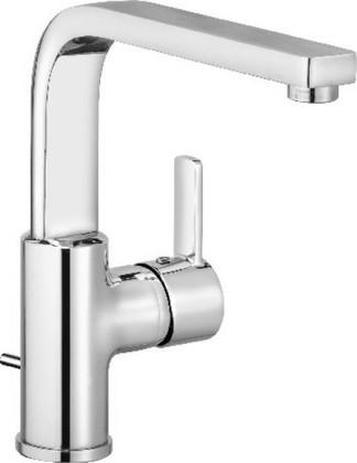 Смеситель для раковины однорычажный высокий с донным клапаном, хром Kludi ZENTA 420250575
