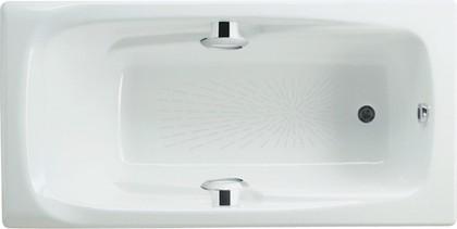 Чугунная ванна 170x85 с отверстиями для ручек Roca MING 2302G000R