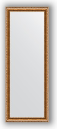 Зеркало в багетной раме 55x145см версаль бронза 64мм Evoform BY 3111