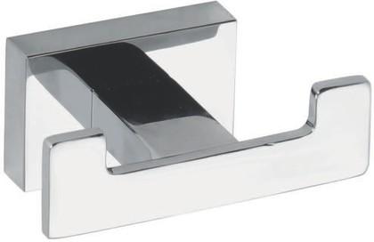 Крючок двойной 75x35x50мм, хром Bemeta Plaza 118106032