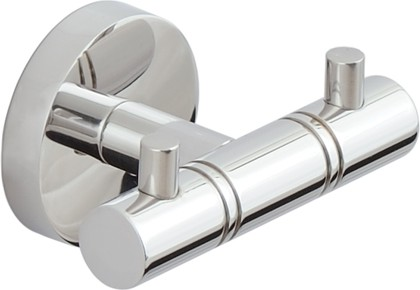 Вешалка для полотенец Сунержа Каньон, 2 крючка, L85, полированная сталь 00-3000-1002