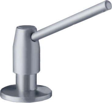 Дозатор жидкого моющего средства встраиваемый, нержавеющая сталь Blanco TANGO 512643