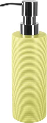 Ёмкость для жидкого мыла керамика, фисташковый Spirella Tube Ribbed 1018518