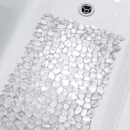 Коврик в ванну Spirella Riverstone, 75x36см, антискользящий, прозрачный 1007072