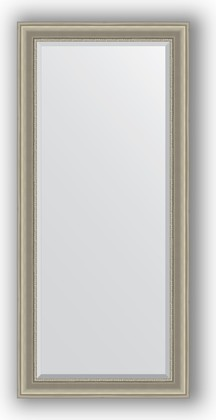Зеркало 76x166см с фацетом 30мм в багетной раме хамелеон Evoform BY 1305