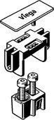 Набор комплектующих для соединения элементов, матовый, Viega Advantix Vario 711795
