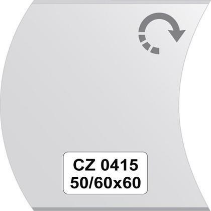 Зеркало для ванной 50/60x60см с фацетом 10мм FBS CZ 0415