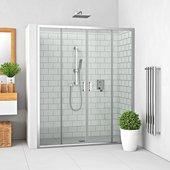 Душевая дверь Roltechnik Lega LLD4, 110см, прозрачное стекло, хром 574-1100000-00-02