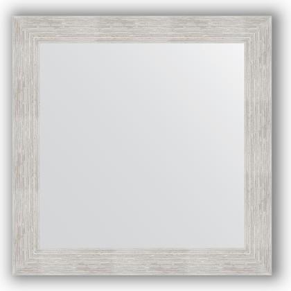 Зеркало в багетной раме 66x66см серебряный дождь 70мм Evoform BY 3144