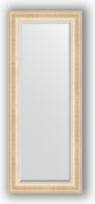 Зеркало 55x135см с фацетом 30мм в багетной раме старый гипс Evoform BY 1252