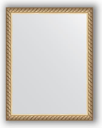 Зеркало 34x44см в багетной раме витая латунь Evoform BY 1338