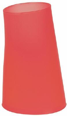 Стаканчик пластиковый красный Spirella Move 1009593