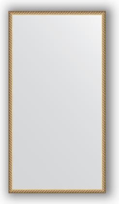 Зеркало 58x108см в багетной раме витая латунь Evoform BY 0737