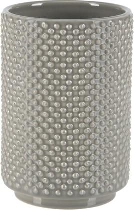 Стакан керамический, серо-коричневый Spirella Mero 1019343