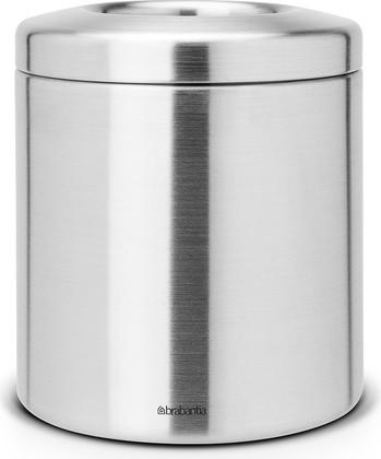 Настольное контейнер для мусора 1л стальной матовый Brabantia 297960