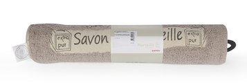 Коврик для ванной комнаты хлопковый 50x80см коричневый Spirella Savon De Marseille Canebiere 4007286
