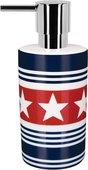 Дозатор для жидкого мыла Spirella Wainscott настольный, керамика, синий 1017603