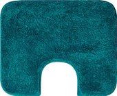 Коврик с вырезом под туалет 50x60см бирюзовый Grund MELO WC 2559.06.4126