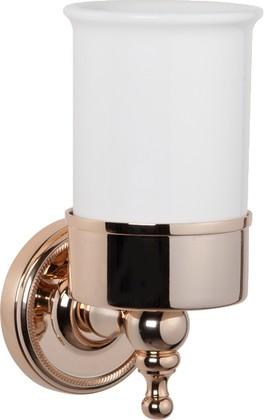 Стаканчик настенный керамический, светлое золото TW Bristol TWBR109gold