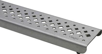 Дизайн-решетка стальная глянцевая, 800мм Viega Advantix Visign ER1 571535