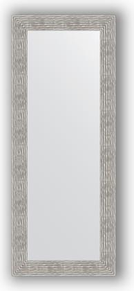 Зеркало в багетной раме 60x150см волна хром 90мм Evoform BY 3121