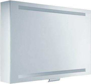 Зеркальный шкаф 95x65см с поднимающейся дверцей и подсветкой Keuco EDITION 300 30203171201