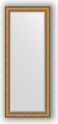 Зеркало 64x154см с фацетом 30мм в багетной раме медный эльдорадо Evoform BY 1283