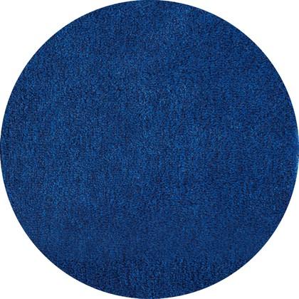 Коврик для ванной круглый диам.80см тёмно-синий Grund Lex 2622.43.4247