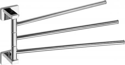 Держатель полотенец тройной поворотный, хром Bemeta Niki 153104112