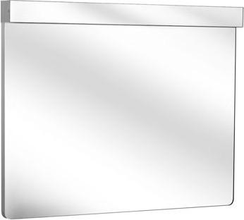 Зеркало 95.0x70.5см белое с горизонтальной подсветкой Keuco ELEGANCE 11696012500