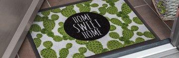 Коврик придверный Golze Homelike Welcome, 40x60, серый 1676-15-04