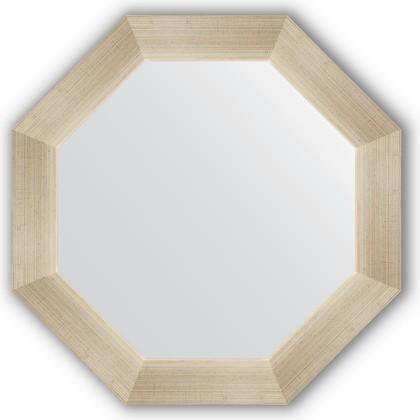 Зеркало Evoform Octagon 504x504 в багетной раме 59мм, травлёное серебро BY 3703