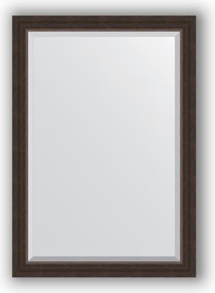 Зеркало 71x101см с фацетом 25мм в багетной раме палисандр Evoform BY 1194