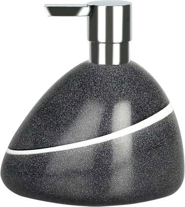 Ёмкость для жидкого мыла цвет серый камень Spirella Etna Stone 1013643