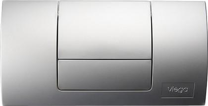 Кнопка смыва для инсталляции для унитаза пластиковая хромированная Viega Standard 1 449018