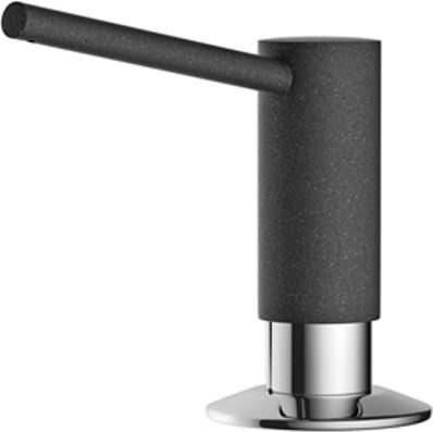 Дозатор жидкого моющего средства встраиваемый, чёрный Omoikiri ОM-02-BL 4995018