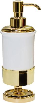 Ёмкость для жидкого мыла керамическая, золото TW Bristol TWBR180oro