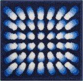 Коврик для ванной 60x60см синий Grund Karim 07 3644.64.048