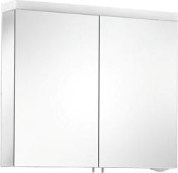 Зеркальный шкаф 80x70см с подсветкой двухдверный Keuco ROYAL REFLEX 24003171301
