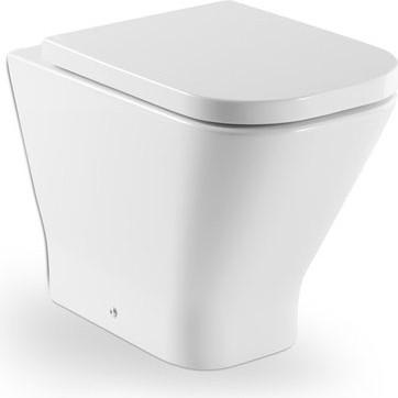 Напольный унитаз с двойным выпуском, белый Roca The GAP 347477000