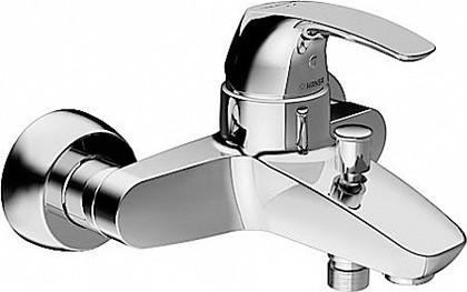 Однорычажный смеситель для ванны с душем Hansa DISC 1782174