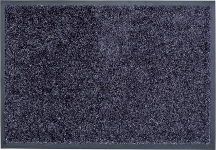 Коврик придверный 80х120см серо-голубой, полиамид Golze Diamant 619-80-42